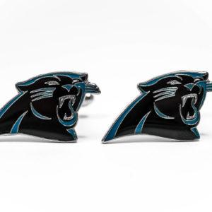 Carolina Panthers Cufflinks Wedding K Featured