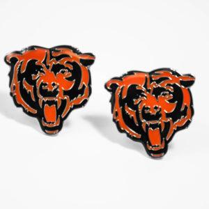 Chicago Bears Cufflinks Wedding K Featured