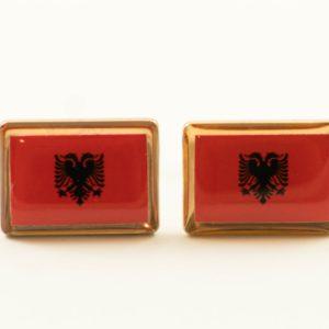 Albania Albanian Flag Cufflinks Wedding Featured S