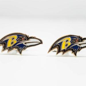 Baltimore Ravens Cufflinks Wedding K Featured