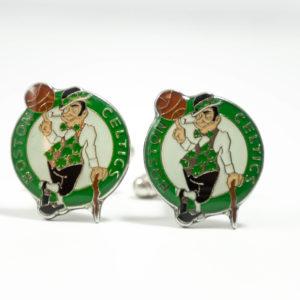 Boston Celtics Cufflinks Wedding K Featured