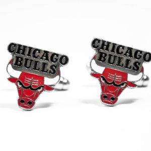 Chicago Bulls Cufflinks Wedding K Featured