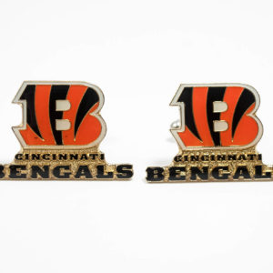 Cincinnati Bengals Cufflinks Wedding K Featured