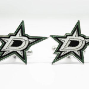 Dallas Stars Cufflinks Wedding K Featured