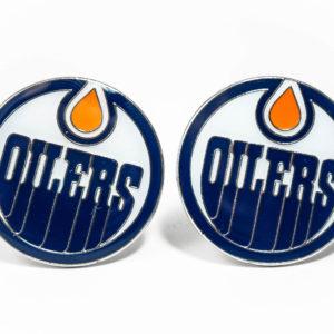 Edmonton Oilers Cufflinks Wedding K Featured
