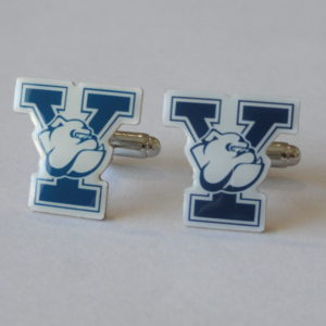 Yale Y Cufflinks Featured
