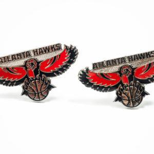 Atlanta Hawks Cufflinks Wedding K Featured