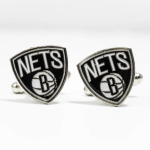 Brooklyn Nets Cufflinks Wedding K Featured
