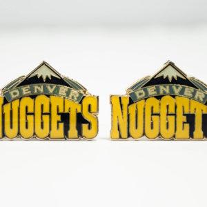 Denver Nuggets Cufflinks Wedding K Featured