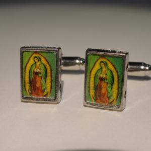 1 Virgin Mary Cuff Links Wedding