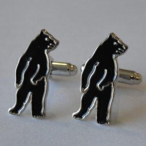 Black Bear Cufflinks Wedding K Featured