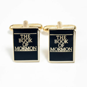 Book of Mormon Cufflinks Wedding K Featured