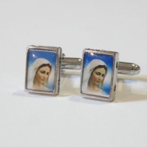 Virgin Mary Cuff Links Wedding