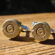 5.56x45mm NATO Cuff Links Wedding K