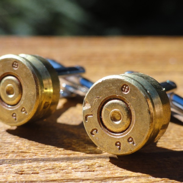 5.56x45mm NATO Cufflinks Wedding K Featured