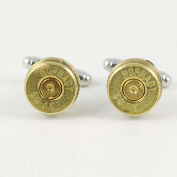 .50 Caliber Desert Eagle Ammo Cuff Links Wedding K
