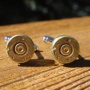 7.62x39mm NATO Ammo Cufflinks Wedding K