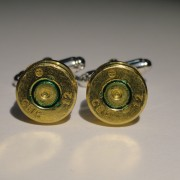 7.62x51mm NATO Ammo Cufflinks Wedding K
