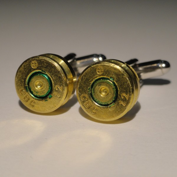 7.62x51mm NATO Ammo Cufflinks Wedding K Featured