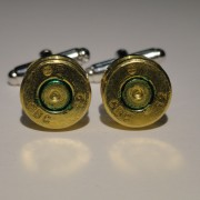 7.62x51mm NATO Ammo Cufflinks Wedding K Gun