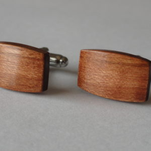 American Cherry Wood Cufflinks Wedding K Featured