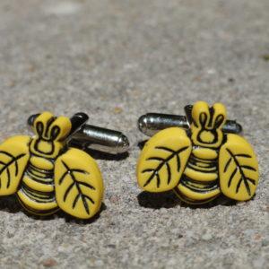 Bee Cufflinks Wedding K Featured