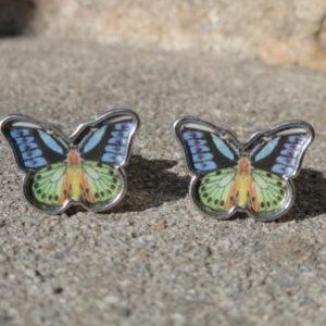Birdwing Butterfly Cufflinks Wedding K Featured
