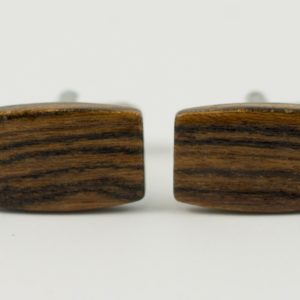 Bocote Exotic Hard Wood Cufflinks Wedding K Featured