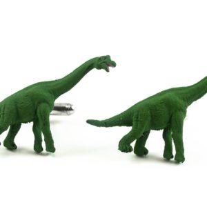 Brachiosaurus Dinosaur Cufflinks Wedding K Featured