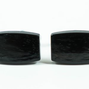 Ebony Wood Cufflinks Wedding Featured S