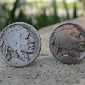 Indian Head Nickel Coin Cufflinks Wedding K Featured