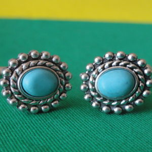 Turquoise Cufflinks Wedding K Featured