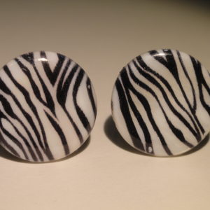 Zebra Pattern Cufflinks Wedding K Featured