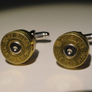 .338 Win Mag Ammo Cufflinks Wedding K Featured