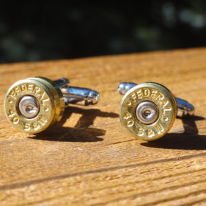 .40 Caliber Ammo Cufflinks Wedding K Featured