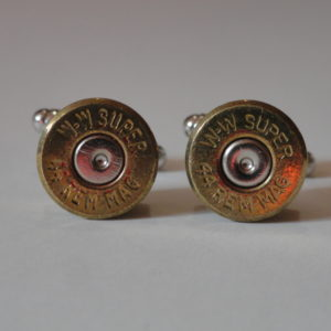 .44 Magnum Caliber Ammo Cufflinks Wedding K Featured