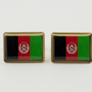 Afghanistan Flag Cufflinks Wedding K Featured