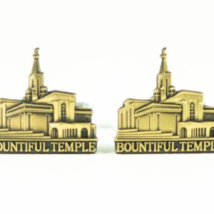 Bountiful Utah LDS Mormon Temple Cufflinks Wedding Featured 1 S