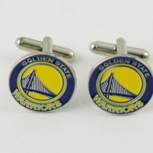 Golden State Warriors NBA Cufflinks Wedding K Featured