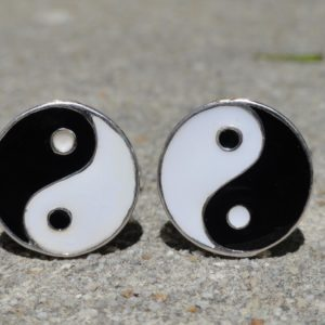 Taoism Ying Yang Cufflinks Wedding K Featured