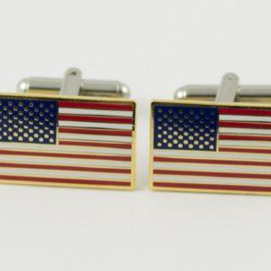 USA American Flag Cufflinks Wedding K Featured America