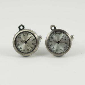 Working Watch Clock Cufflinks Wedding K Featured
