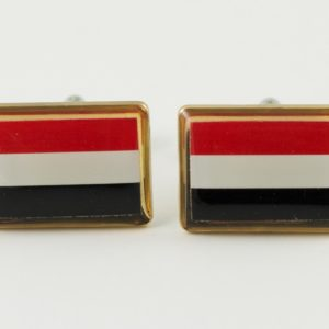 Yemen Flag Cufflinks Wedding K Featured