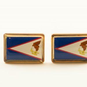 American Samoa Flag Cufflinks Wedding Featured S