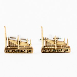 Boise Idaho LDS Mormon Temple Cufflinks Wedding S Featured