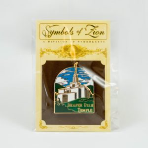 Draper Utah LDS Mormon Temple Lapel Pin Commemorative Featured S