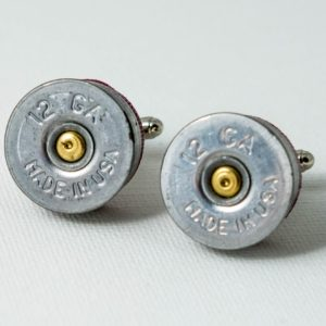 12 Gauge Shotgun Shell Ammo Cufflinks Wedding S Featured
