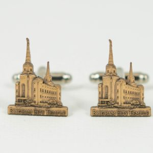 Brigham City Utah LDS Mormon Temple Cufflinks Wedding S Featured
