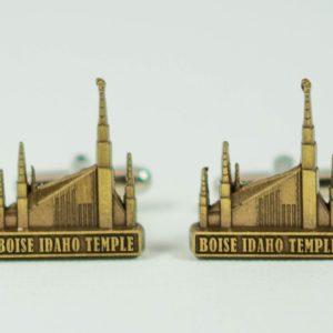 Boise Idaho LDS Mormon Temple Cufflinks Wedding S Featured