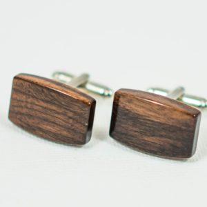 Bolivian Rosewood Wood Wooden Exotic Hardwood Cufflinks Wedding S Featured